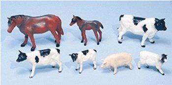 Gran Conjunto De Animales De Granja