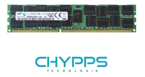 Imagem 1 de 1 de Memória P/servidor Samsung 16gb Pc3l 12800r M393b2g70qh0-yk0