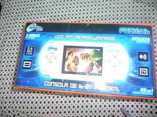 Consola Portatil De Juegos Noganet Pocky 16 Bits