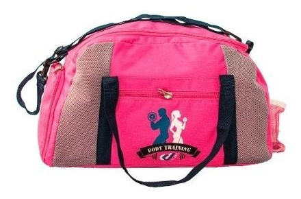 Bolsa Fitness Porta Tênis Sacola Unissex Rosa Pink Academia