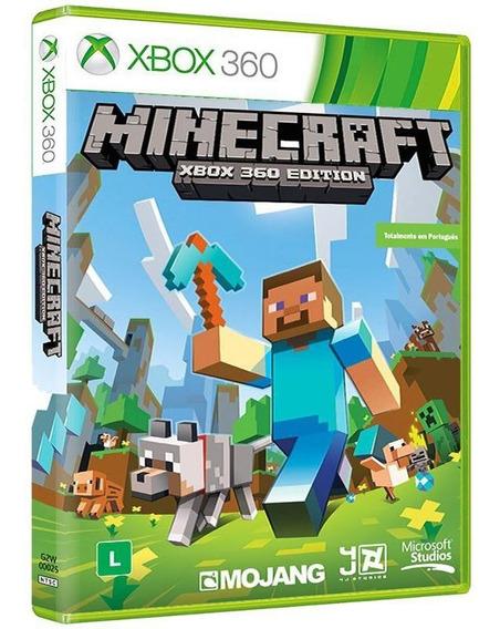 Minecraft: Xbox 360 Edition - Xbox 360 Mídia Física Lacrada