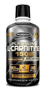 Muscletech Platinum Carnitina 1500 Mg 30 Servicios