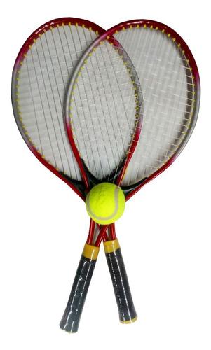 Raqueta Set De Raquetas De Tenis Infantiles Con Pelota Full