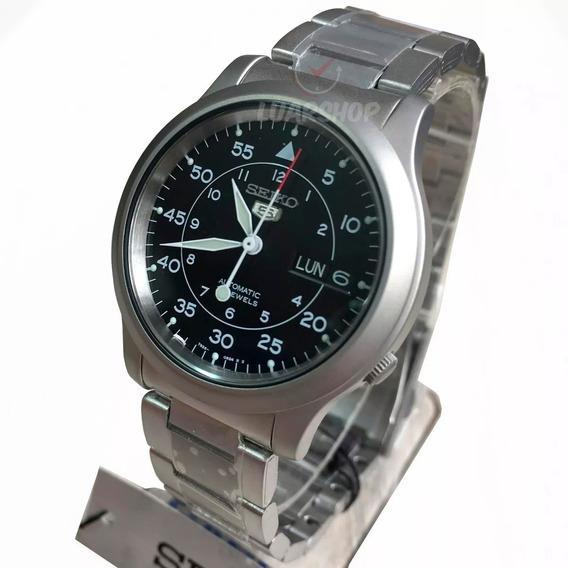 Relogio Automatico Masculino Seiko 5 Snk809k1 Original Nf