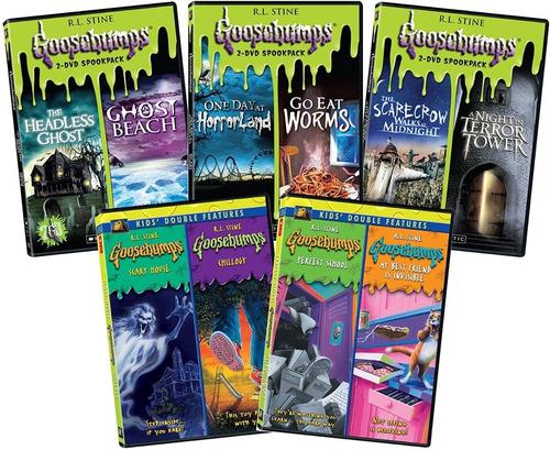 Escalofrios Goosebumps Coleccion Serie Paquete Dvd