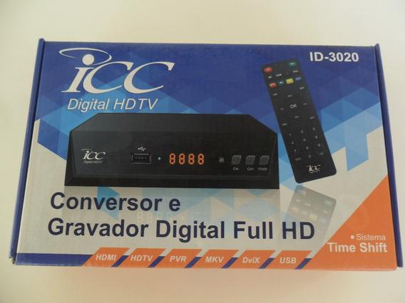 Conversor E Gravador De Programas Digital Full Hd Icc Id3020