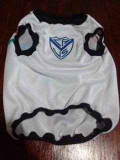 Musculosa Velez Sarsfield Tricolor Para Mascotas/ Talle L