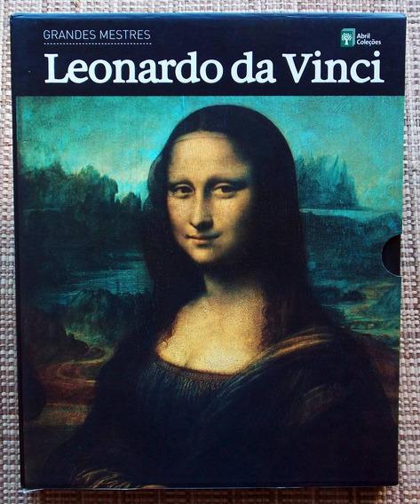 Leonardo Da Vinci - Grandes Mestres - Capa Dura Frete Grátis