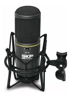 Micrófono Condenser Profesional Skp Studio Sks 420