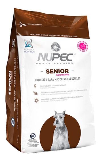 Croquetas Alimento Perro Nupec Senior 2kg Raza Pequeña