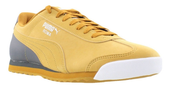 Zapatillas Puma Roma Retro Sports Yellow - A Pedido_exkarg