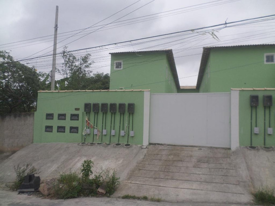 Casa Em Laranjal, São Gonçalo/rj De 55m² 2 Quartos À Venda Por R$ 124.000,00 - Ca212333