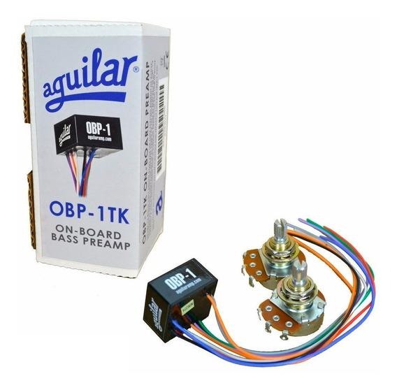 Kit Circuito Aguilar Obp-1tk Pre Amplificador P/ Contrabaixo