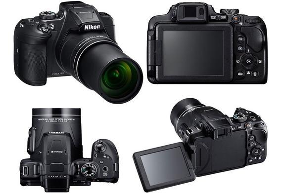 Nikon B700 Cpix 4k,20.3 Mpixel, Zoom 60x +bat + Car+ Bol+tpé