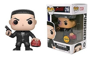 Punisher Funko Pop Exclusivo Chase