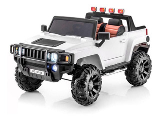 Carro Moto Recargable Electrico Montable Hummer Rc 2velocida