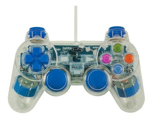 Imagen 1 de 3 de Control Joystick De Juegos Pc Laptop Gamepad 2 Palancas Usb