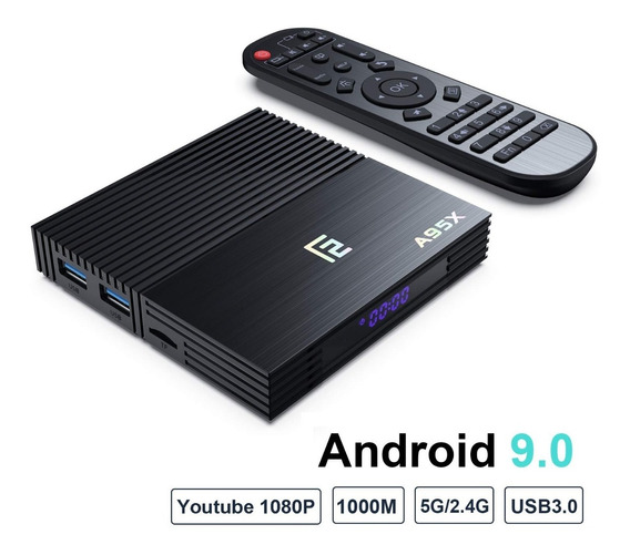 Tv Box Smart Tv Hd 4k Android 9.0 4gb Ram 64gb Memoria