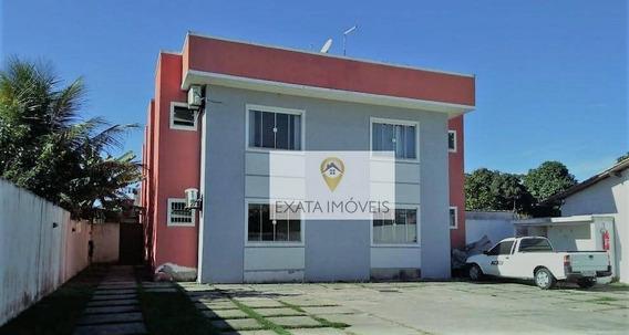 Apartamento Na Primeira Quadra/ Perto Da Rodovia, Enseada Das Gaivotas, Rio Das Ostras. - Ap0414