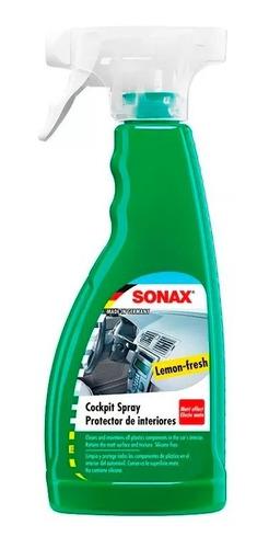 Sonax Protector Limpia Plastico Tablero Interior Aroma Limon