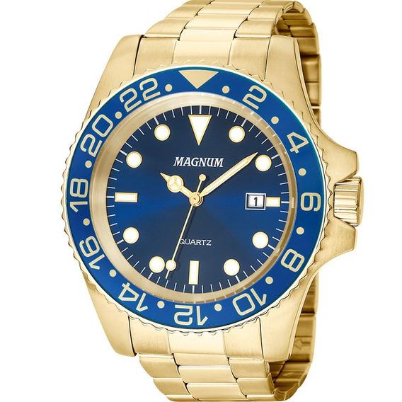 Relógio Magnum Masculino Original Garantia Nota Ma32934a