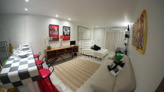 Flat Com 1 Dormitório Para Alugar, 32 M² Por R$ 1.800/mês - Centro - Rio De Janeiro/rj - Fl0021