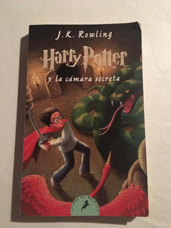 Libro Harry Potter Y La Cámara Secreta