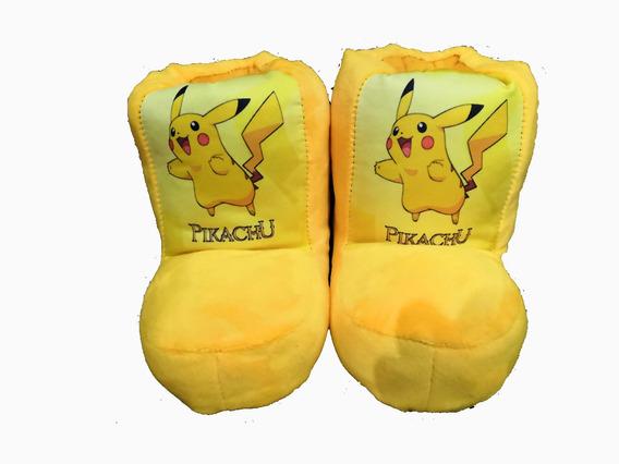 Pantufla Botita Pikachu