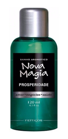Nova Magia Banho Aromático- Prosperidade - Feitiços