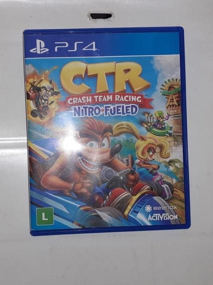 Crash Team Racing Nitro Fueled, Ps4, Mídia Física.