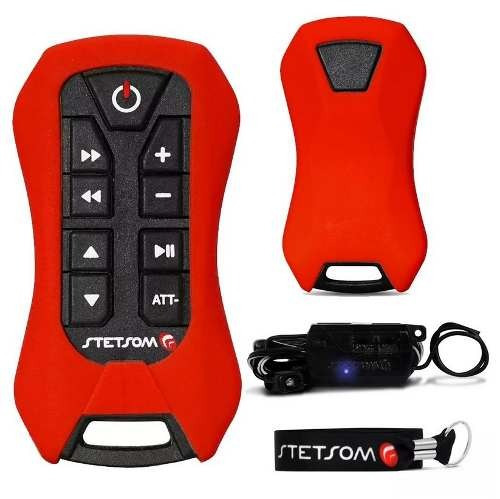 Controle Longa Distância Stetsom Sx2 Light Vermelho 200mts