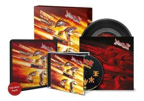 Box Judas Priest Firepower Tour Edition Cd / Lp 7 Importado