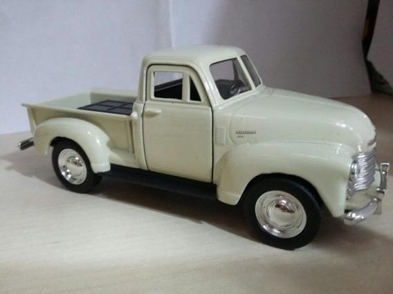 Pickup Chevrolet 1953 De Ferro Branco De Coleção