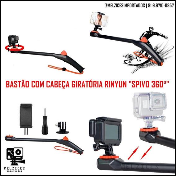Bastão 360° Para Gopro E Smartphone Similar Do Spivo 360°