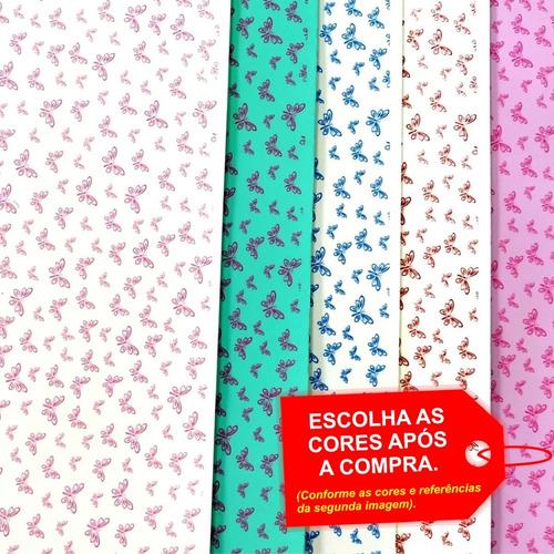 Folha De Eva Estampado Borboleta 40x60cm - 5 Unidades