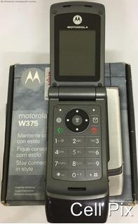 Motorola W375 - Só Funciona Vivo, Rádio Fm, Raridade - Usado