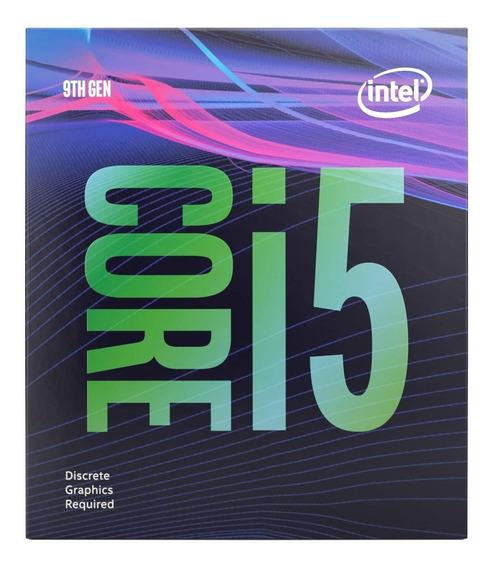Procesador gamer Intel Core i5-9400F BX80684I59400F de 6 núcleos y 2.9GHz de frecuencia