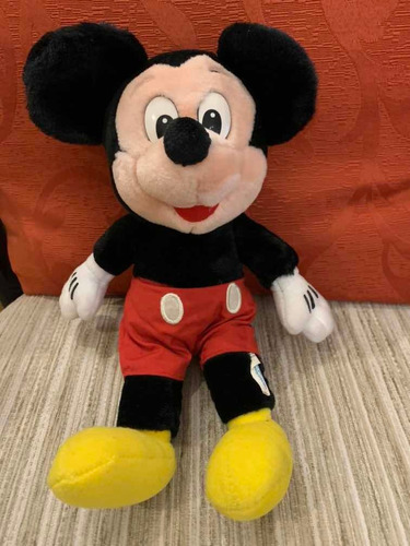 Mickey Mouse Tradicional 32 Cm , Peluche