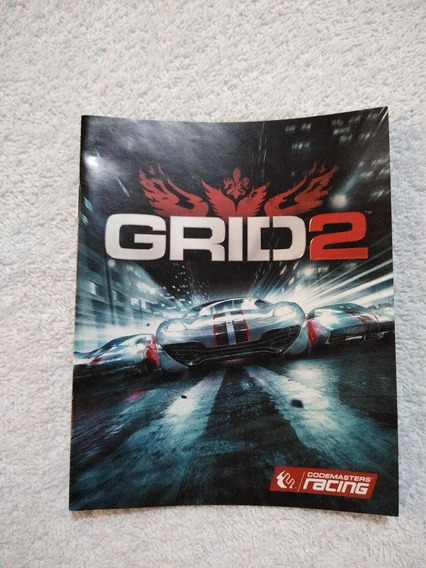 Manual Do Game Grid 2 Ps3 ** Leia