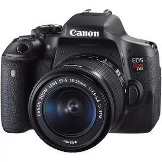 Cámara Canon Rebel T6i 18-55mm Stm Nuevas, Oferta Garantia