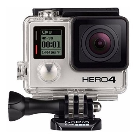 Câmera Gopro Hero 4 Black 12mp C/wifi Bluetooth E Grava 4k