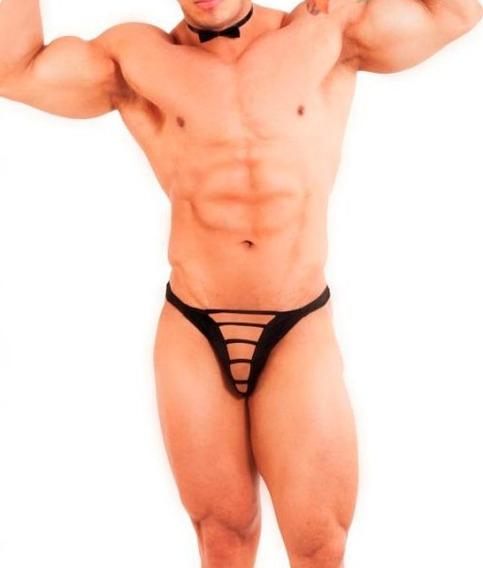 Ropa Interior Para Hombre Sexy Tanga Tipo T Con Tiras Al Frente Tela Ajustable Y Suave Atrevete ¡¡ Ta52