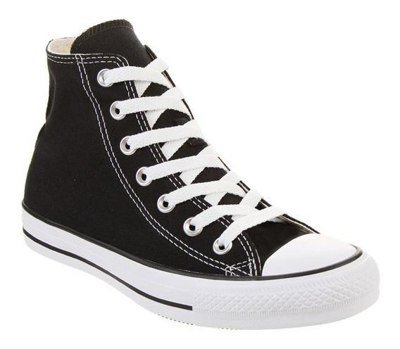 Zapatillas Converse All Star Chuck Taylor Hi Negra 18 Cuotas