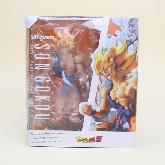 Boneco Goku Super Sajayin Dragon Ball Z Articulado Sayayin