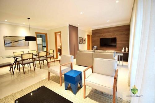 Apartamento À Venda, 140 M² Por R$ 1.300.000,00 - Pituaçu - Salvador/ba - Ap1076