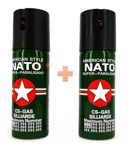 Imagen 1 de 1 de 2x1 Gas Pimienta Defensa Personal Aerosol Peper + Carnet!