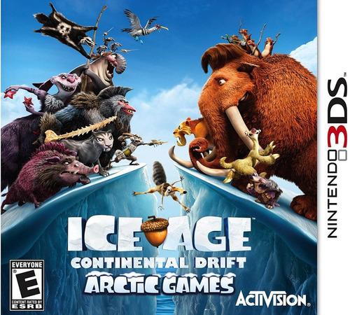 Ice Age Continental Drift Artic Games Nintendo 3ds Dakmor