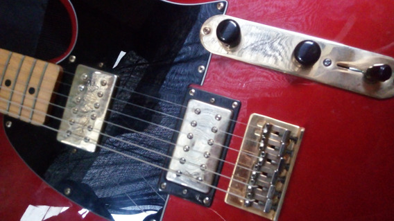 Guitarra Fender Telecaster Blacktop Hh Made In Mexico Mim