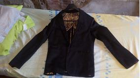Vendo Blazer Masculino Preto Da Cia Do Terno N°44 R$ 250