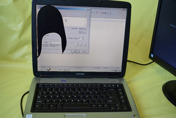 Notebook Toshiba Satellite A60 Com Tela De 15 (tela Quebrad